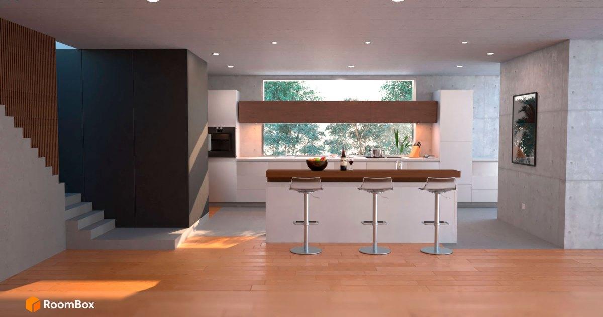 Cocina-taburetes-RoomBox-render