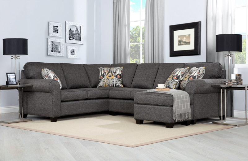 DecorRest 2576 sectional  Room Concepts