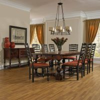 Distressed Dining Room | Canadel Champlain Dining Collection