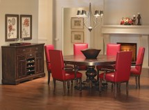 Distressed Dining Room Canadel Champlain Collection