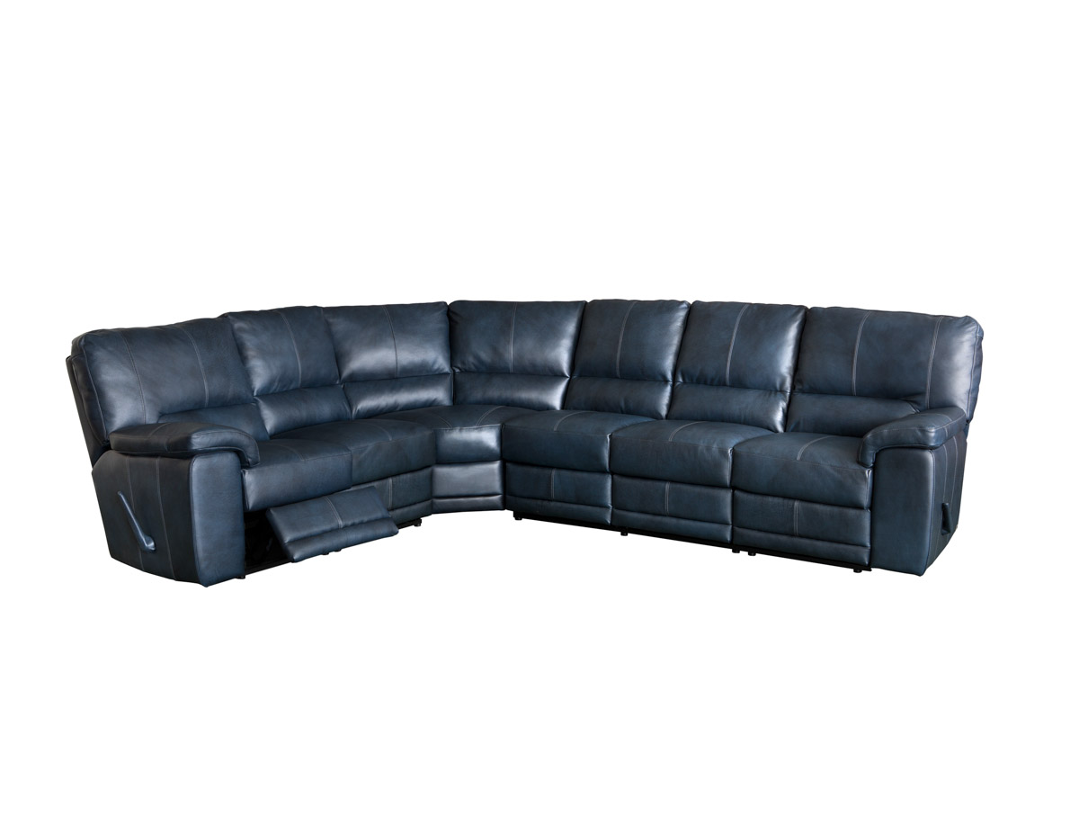reclining sofa leather sectional jack knife frame elran rain - room concepts