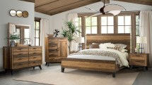 Urban Rustic Bedroom - Room Concepts