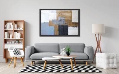Mid Century Modern Living Room Ideas (4 Easy Steps)