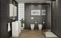 How to get a modern bathroom interior design