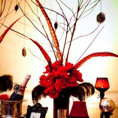 Red And Black Living Room Theme Wall Clocks How To Decorate Your Home For A Moulin Rouge Party