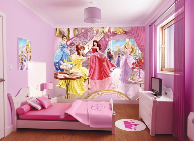 Great Frozen Themed Bedroom Ideas Surprise Redecoration Of