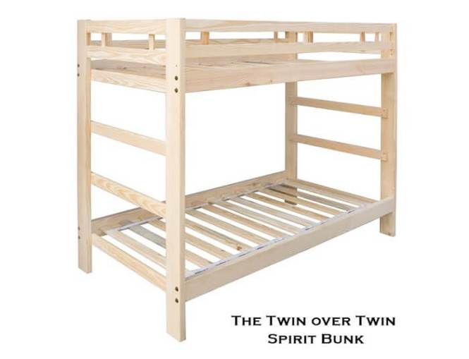 Twin Bunk Bed Spirit Style