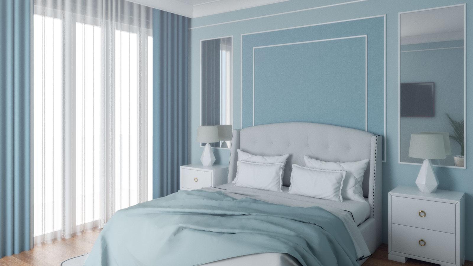 Classic Light Blue Bedroom Roomdsign Com