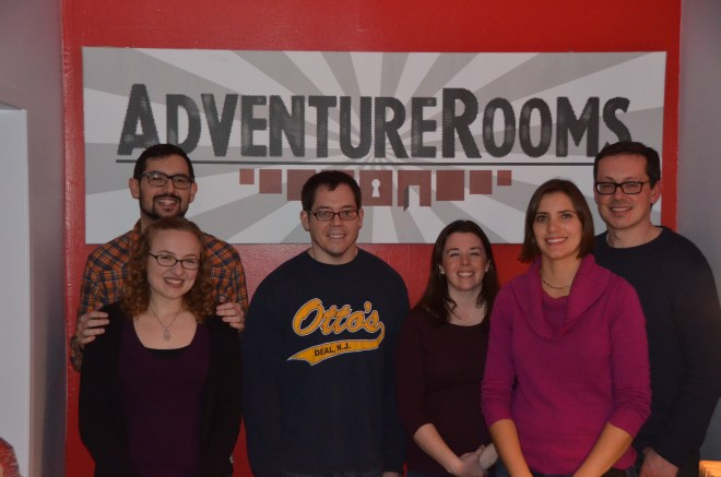 Adventure Rooms NJ - Room Escape Artist Team
