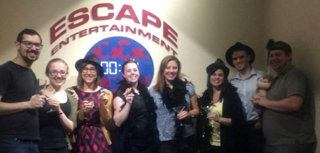 escape entertainment prohibition pandemonium