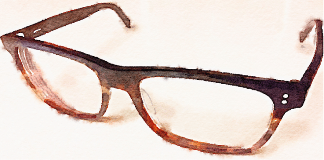 Glasses - Watercolor