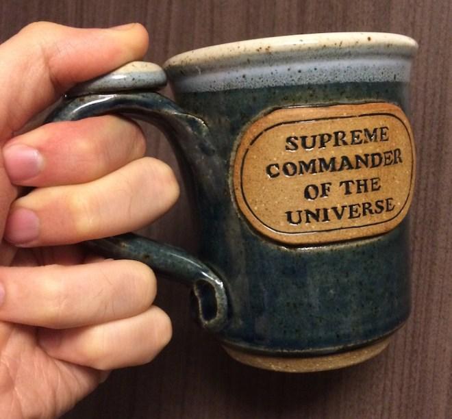 Supreme Commander of the Universe