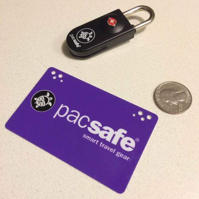 Pacsafe Prosafe 750 TSA Accepted Key-Card Lock