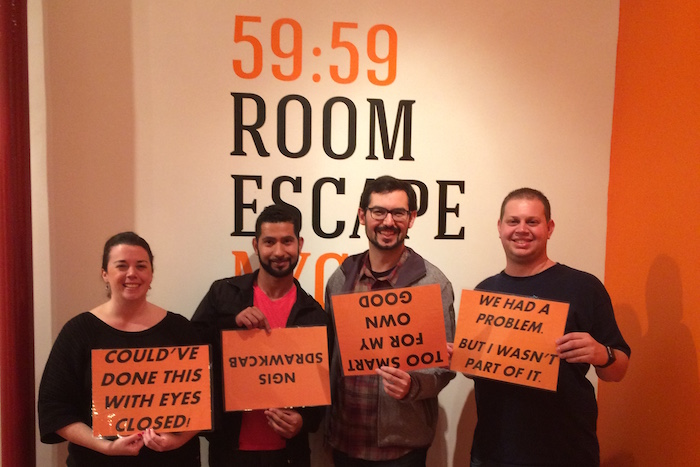 59:59 Room Escape NYC Chamber of Dreams - Victory