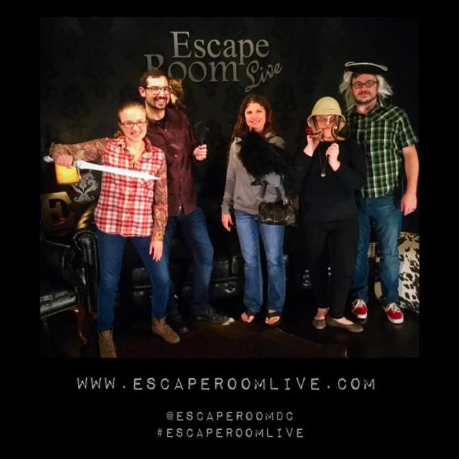 Escape Room Live Alexandria - Sherlock Victory