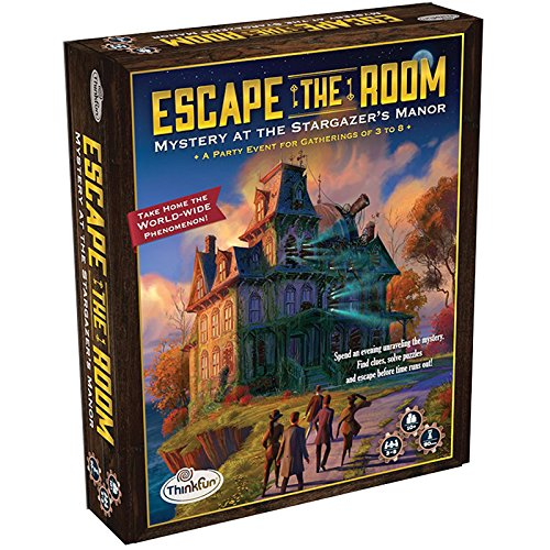 Image of the box cover for Escape The Room Mystery at Stargazer's Manor
