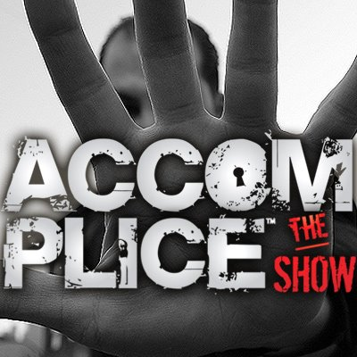 Accomplice the show logo