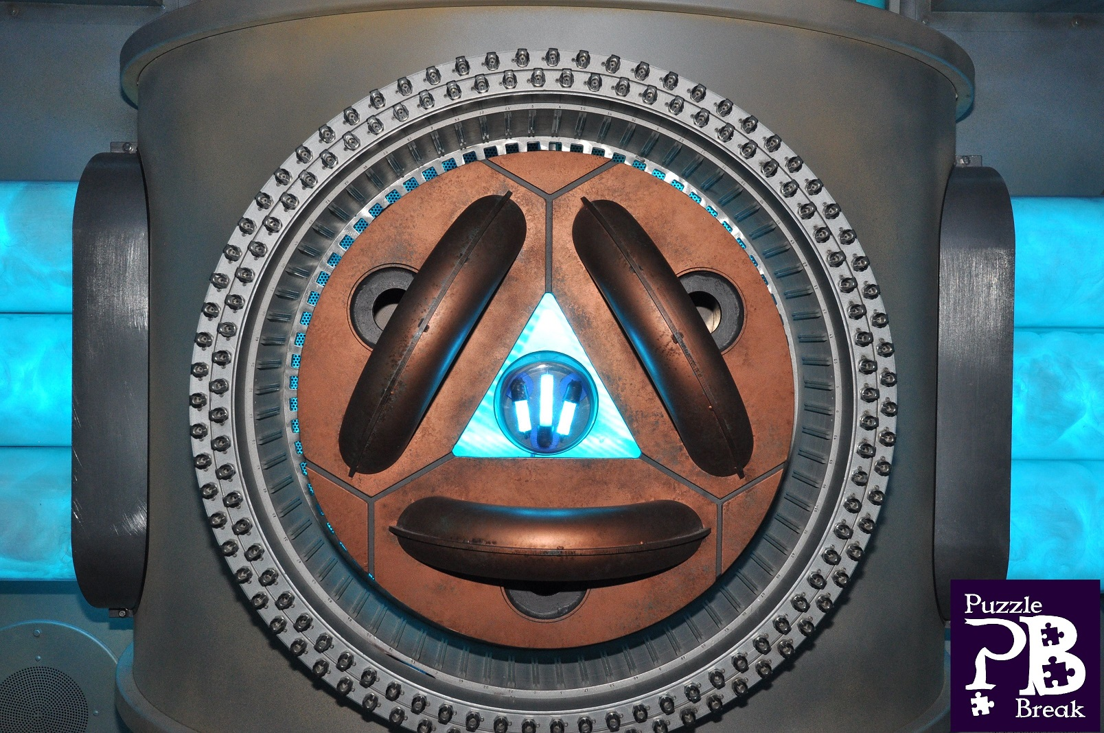In-game image of the Rubicon. A blue glowing power source