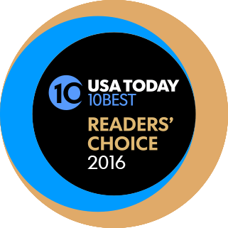 USA Today 10Best Readers' Choice 2016 logo