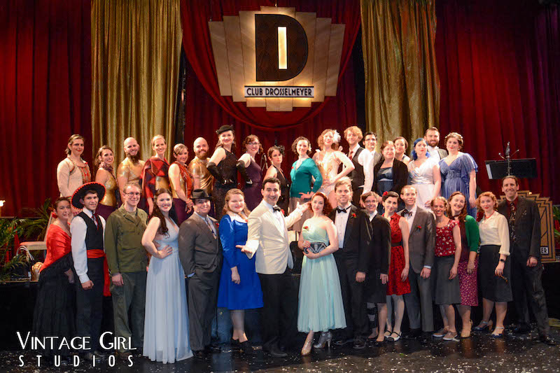 Club Drosselmeyer - Cast photo on the stage