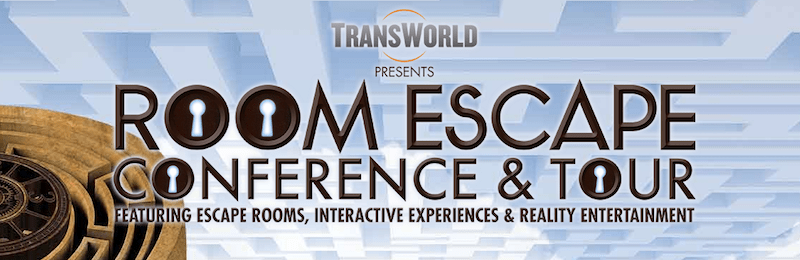 Transworld Room Escape Conference Logo