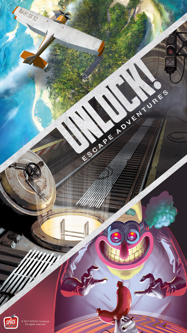 Box art for Unlock! Escape Adventures