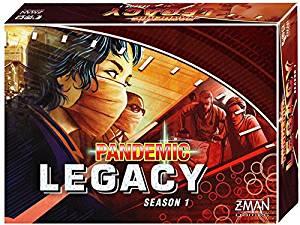 Pandemic Legacy Season 1 red box art.