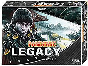 Pandemic Legacy Season 2 blue box art.