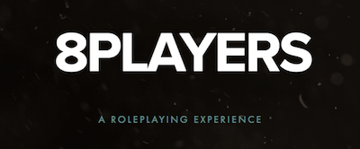 8Players roleplaying experience logo.