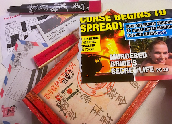 An assortment of documents and items from Dispatch Box 3.