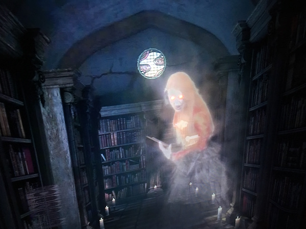 In-game: The Librarian ghost.