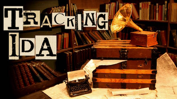 Tracking Ida Banner: An gramophone in an old study.