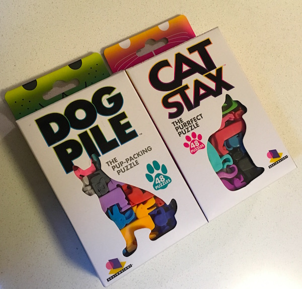 The Dog Pile & Cat Stax boxes.