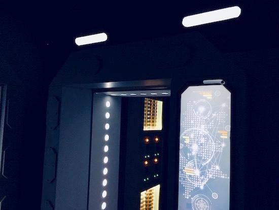 In-game: the doorway to the bridge.