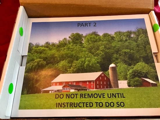 The coversheet for part 2, features an image of a farm.