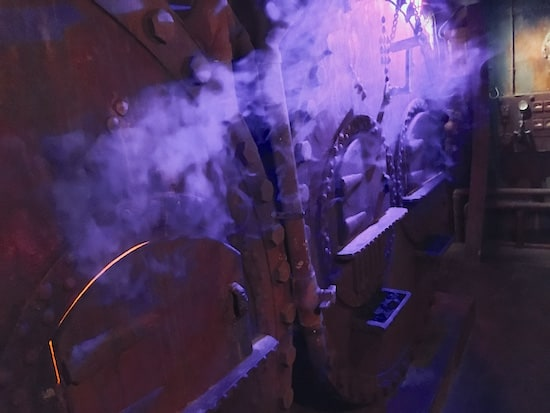 In-game: steaming furnaces.