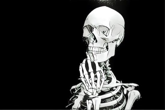 A ponderous skeleton.
