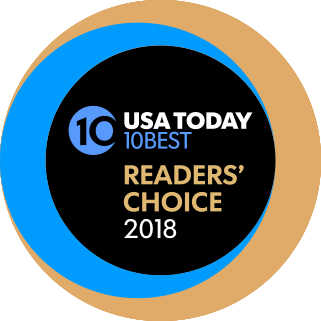 USA Today 10Best Readers Choice 2018 logo