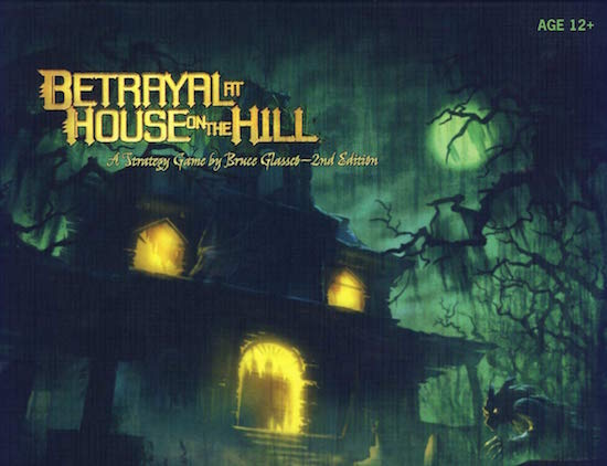 Haunted House box for Betrayal.