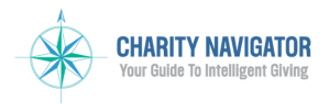 Charity Navigator: Your Guide To Intelligent Giving's compass logo.