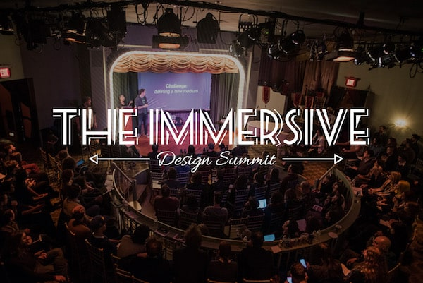Immersive Design Summit stage.