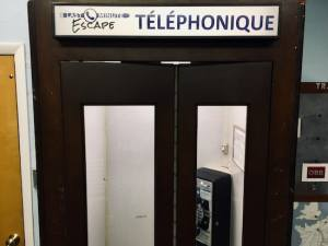 In-game: An old telephone booth.