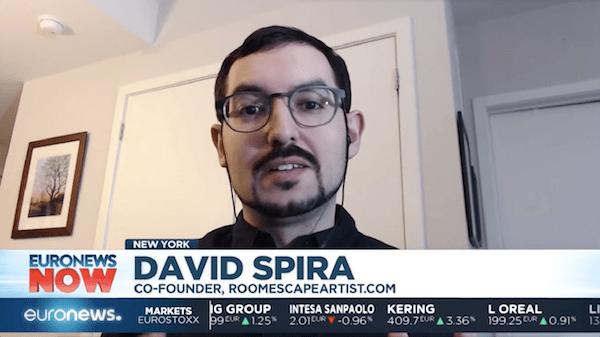 David on EURONEWS NOW.