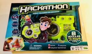 Hackathon's packaging.