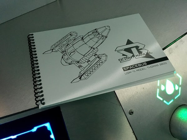 In-game: The Space Bus Flight Manual