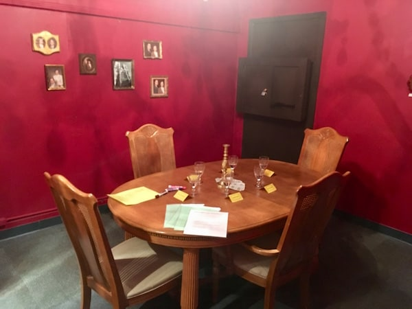 In-game: Denbrough's dining room.