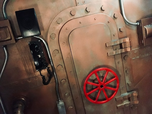 In-game: A sealed door in a submarine.