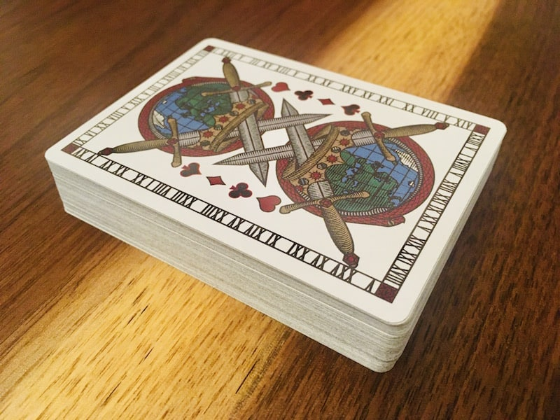 The Carte Rouge deck.