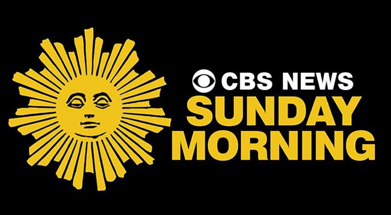 CBS Sunday Morning's sleepy sun logo