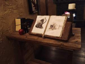 In-game: A book of magical creatures.